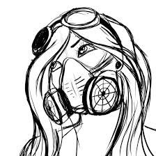 224x224 image result for steampunk fox steampunk mask drawing, draw