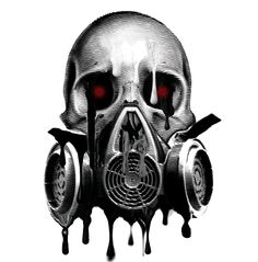 236x239 awesome gas face images drawings, gas masks, masks art