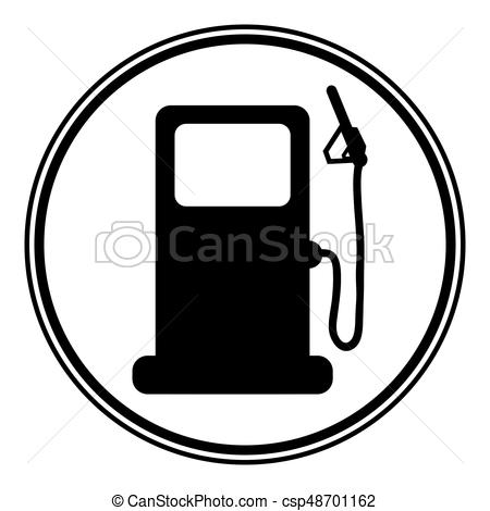 450x470 gas station sign gas station sign on white background clip