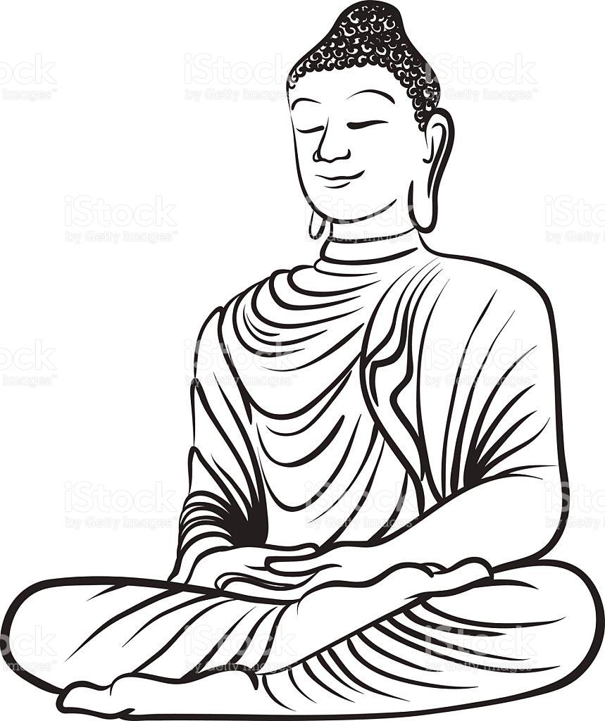 Gautam buddha drawing free download best gautam buddha