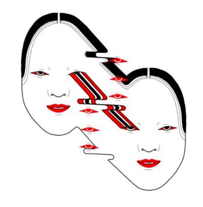 400x407 Geisha Face Tumblr