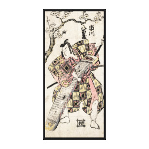 307x307 Cool Oriental Classic Japanese Samurai Warrior Art Wall