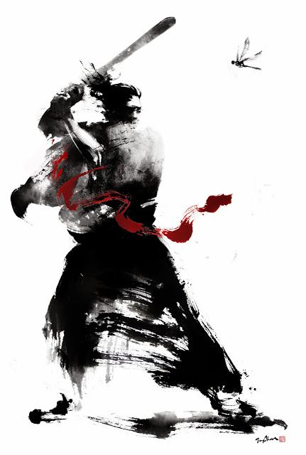 431x640 Jungshan Ink Illustration Home Of The Geisha Samur Samurai
