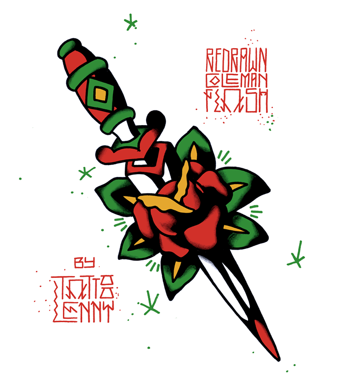 700x787 Lennard Schuurmans Tattoo Flash