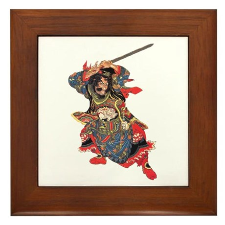 460x460 Samurai Warrior Wall Art