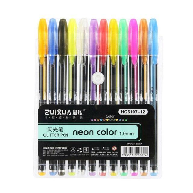 Gel Pen Drawings