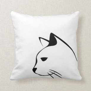 307x307 Geometric Cat Cushions