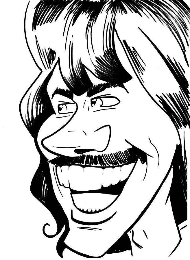 657x900 George Harrison Drawing