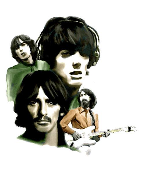 492x600 Requiem Ii George Harrison Painting
