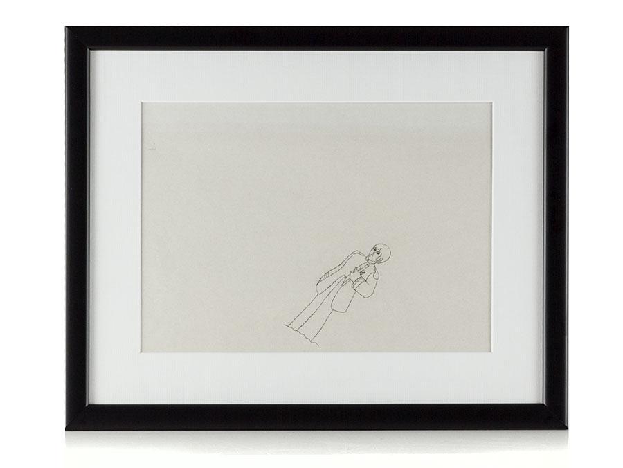 900x676 Original Beatles Drawing Paul Mccartney Yellow Submarine