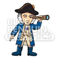 George Washington Cartoon Drawing