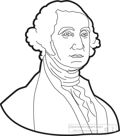 486x550 George Washington Clipart Black And White