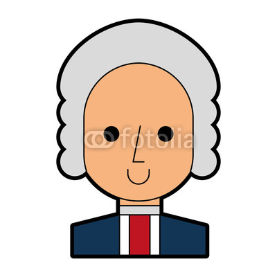 400x400 George Washington Character Comic Vector Illustration Design Buy