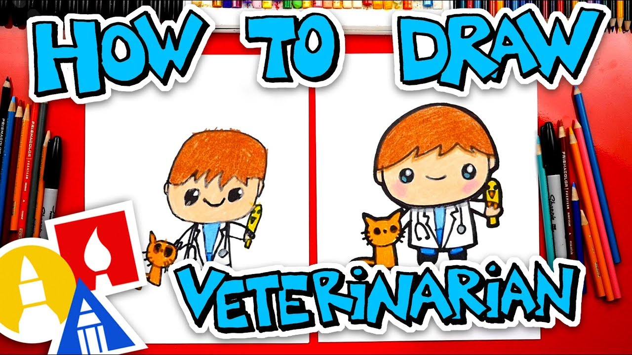 1280x720 How To Draw A Veterinarian