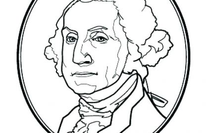 420x270 Free Coloring Pages George Washington Beautiful Abraham Lincoln