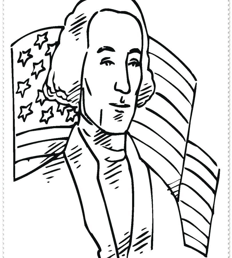 810x900 george washington coloring pages printable george washington