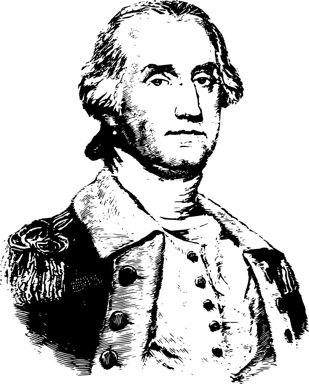 952x1186 George Washington Portrait