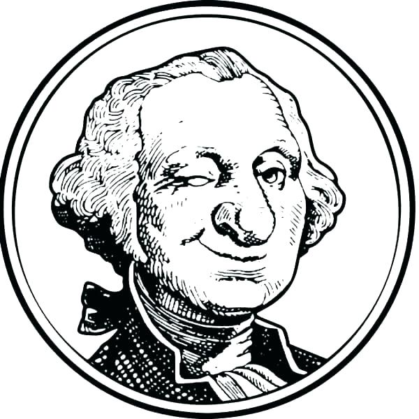 600x600 Printable Pictures Of George Washington Coloring Book Pictures