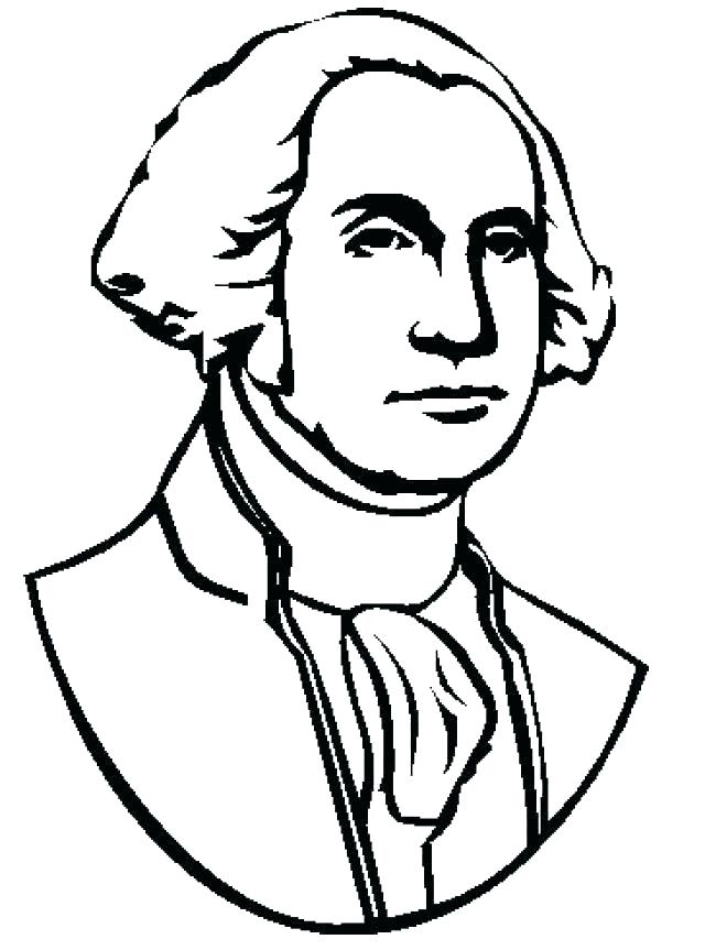 640x863 Coloring Pages Of George Washington Hashclub
