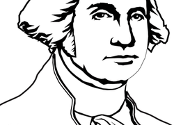 250x180 Color George Washington Worksheet