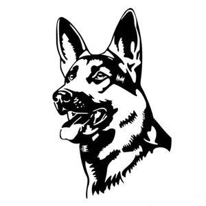 German Shepherd Dog Drawing