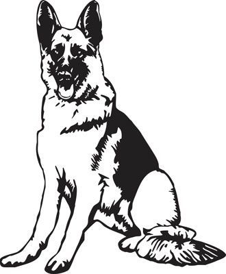 330x400 image result for german shepherd clipart image cricut