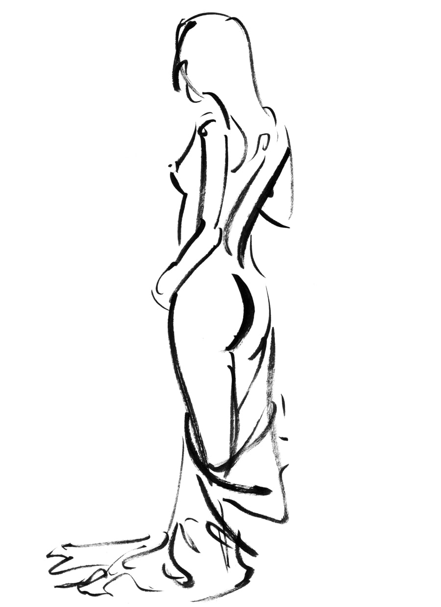 900x1238 Gesture Drawing The Third