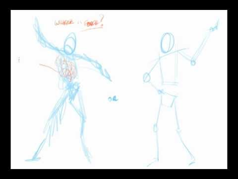 480x360 How To Draw Gesture Without A Stick Figure