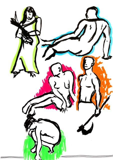 454x640 New To Gesture Drawing Two Minute Figures