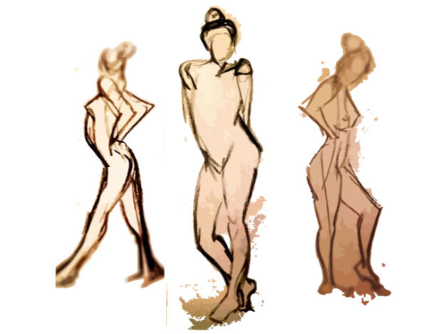 600x470 gesture drawing think low think high