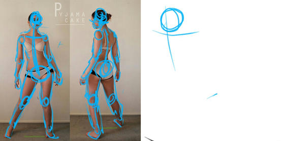 600x278 Character Design Gesture Drawing