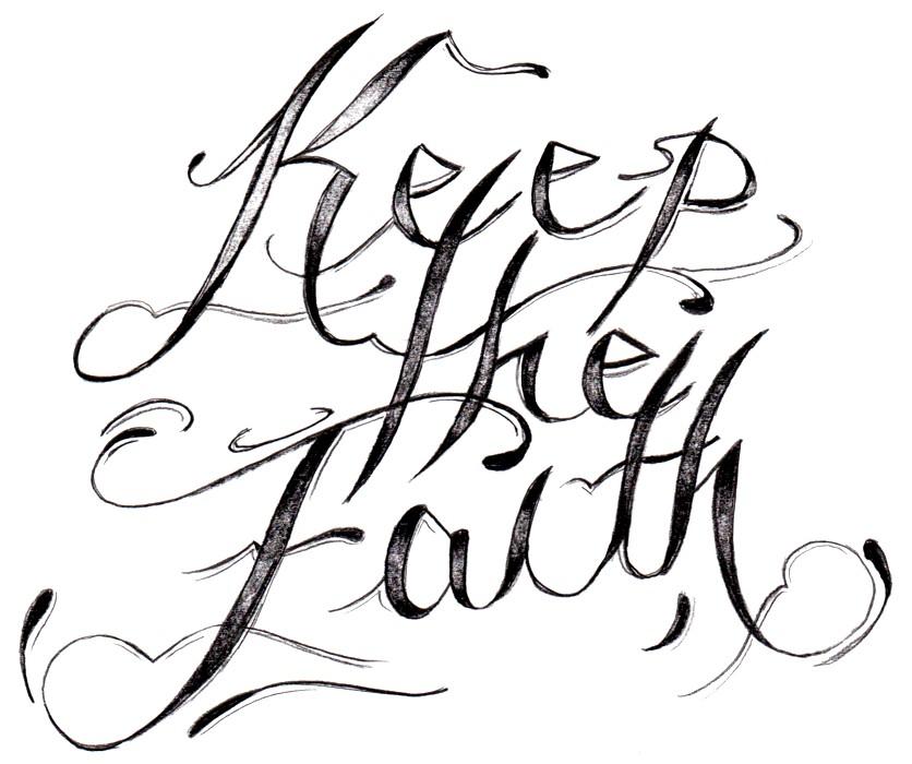 836x700 faith drawings faith or truth drawing