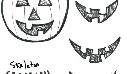 500x293 Halloween Drawings Easy Halloween Drawings Easy Ghost