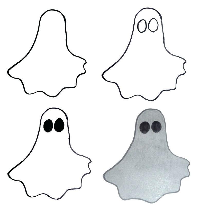 778x822 Easy To Draw Halloween