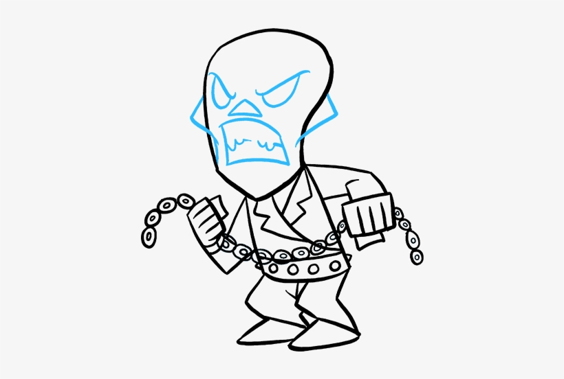 820x552 Download How To Draw Ghost Rider