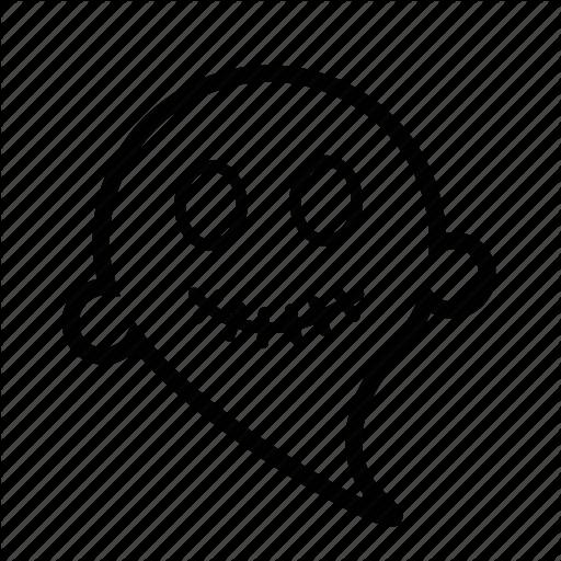512x512 Drawing Emoji Ghost Huge Freebie! Download For Powerpoint
