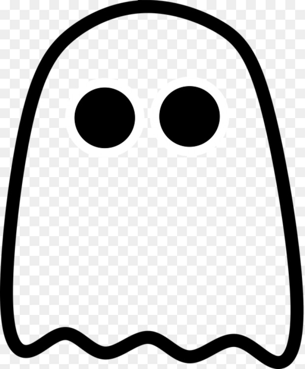 620x750 Ghost Drawing Download Cc0