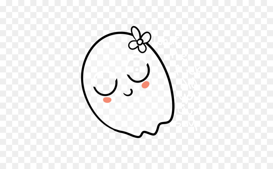 900x560 Drawing, Ghost, White, Transparent Png Image Clipart Free Download