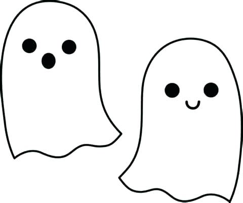 480x402 Ghost Face Template Cut Cute Ghost Face Templates Lost