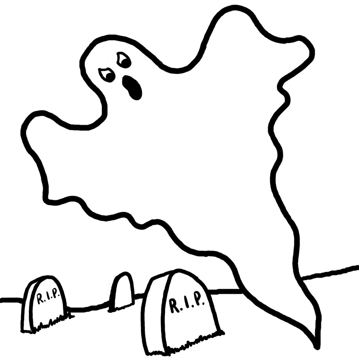 1200x1200 Ghost Face Templates Halloween Clip Art Free Vector In Open