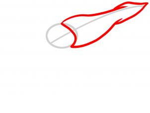 302x229 how to draw a giant squid, giant squid, step