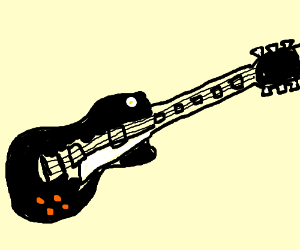 Gibson Les Paul Drawing
