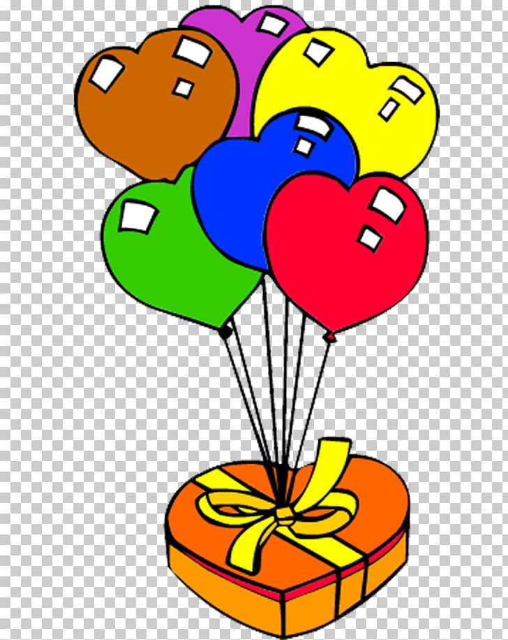 728x916 Drawing Gift Ballonnet Balloon, Color Heart Shaped Balloons Gift