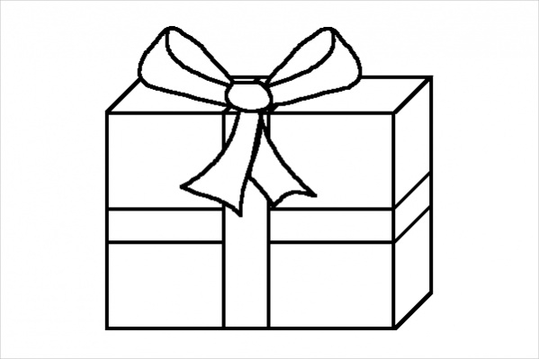 Christmas Present Drawings.Gift Drawing Free Download Best Gift Drawing On Clipartmag Com