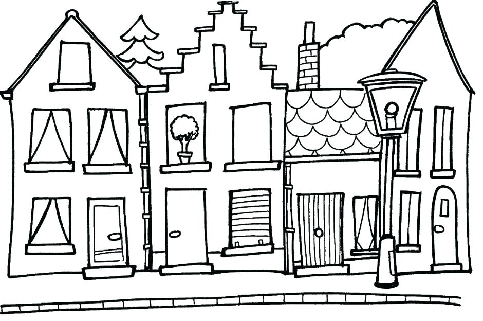 940x624 gingerbread house coloring pages free printable gingerbread house
