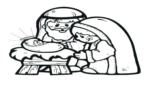 520x350 Christmas Coloring Pages Gingerbread House Series