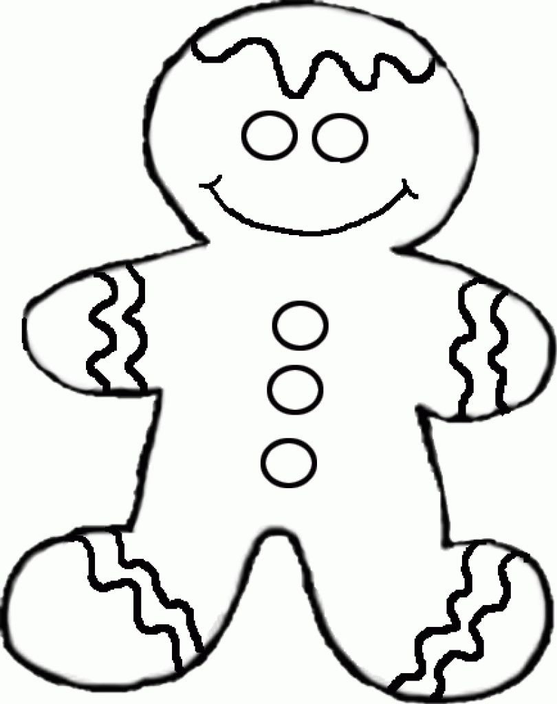 810x1024 Candy Drawing Gingerbread Man For Free Download On Ayoqq Best