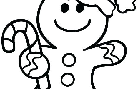 469x304 Gingerbread Cookies Coloring Pages Gingerbread Cookie Coloring