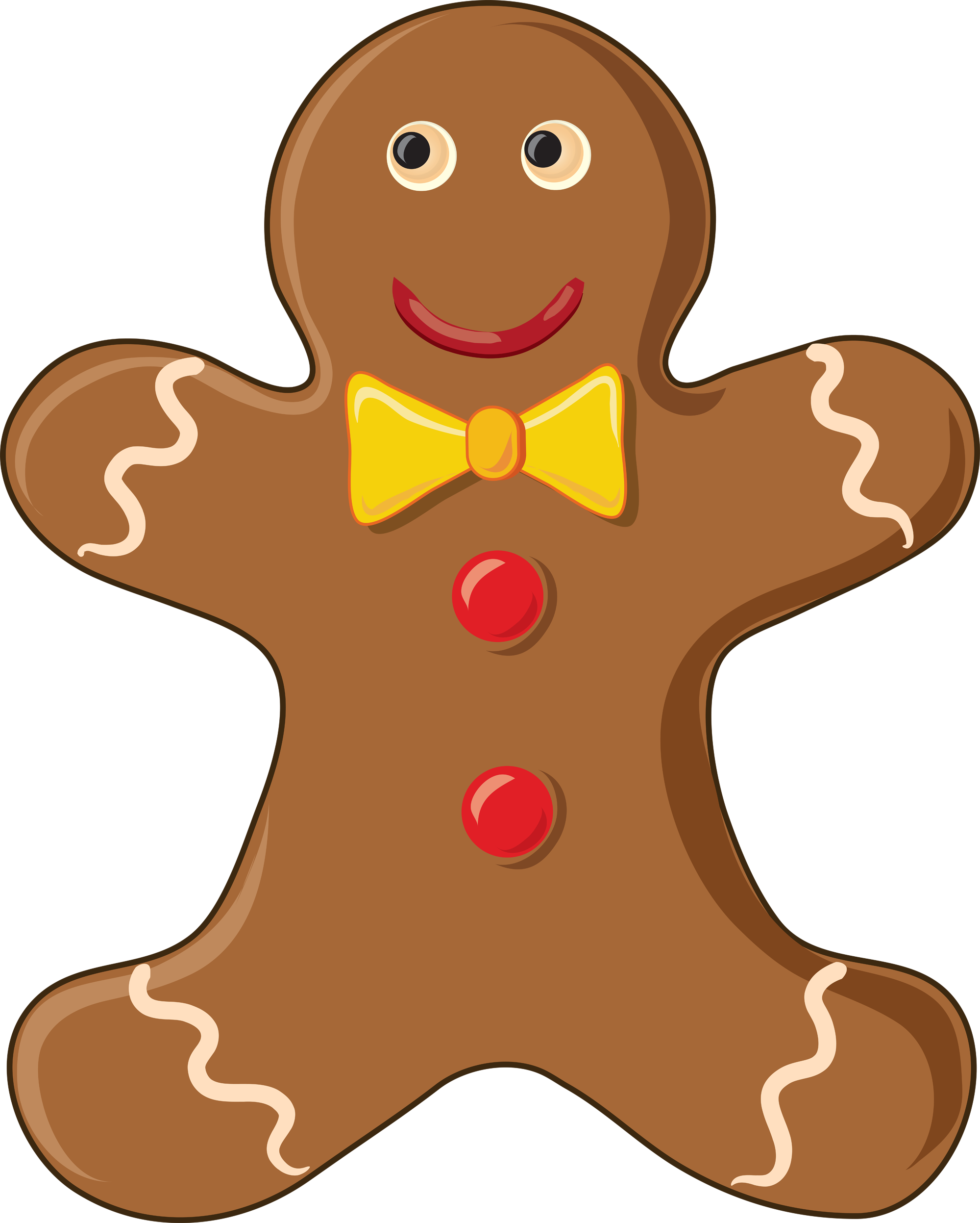 2000x2494 Kd Drawing Gingerbread Man Transparent Png Clipart Free Download
