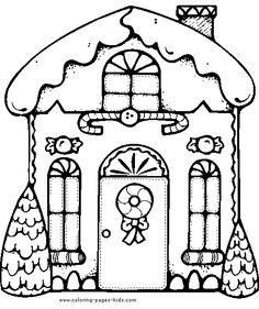 236x281 Christmas Gingerbread Houses Coloring Sheets Lovely Best